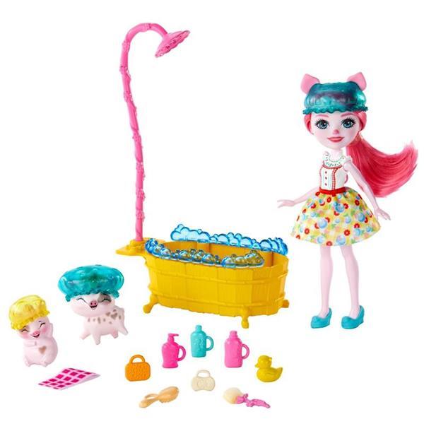 Imagen de Enchantimals Petya Pig Set De Baño