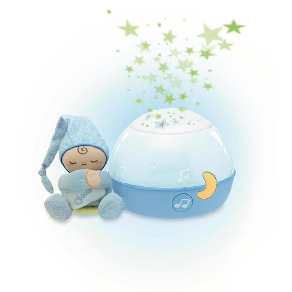 Imagen de Proyector Azul Estrellitas Buenas Noches