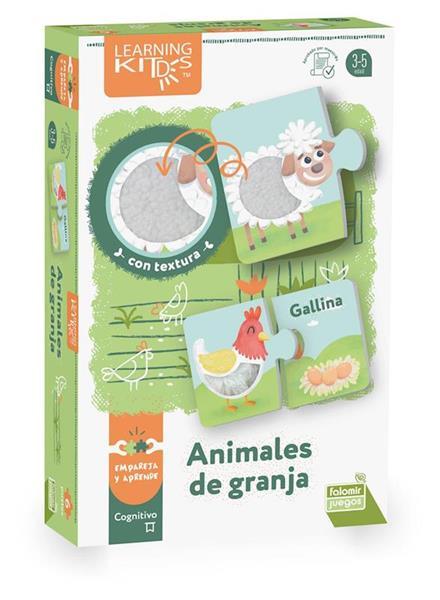 Imagen de Puzle De Tela Animales De Granja