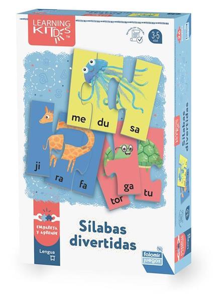 Imagen de Juego Sílabas Divertidas Animales