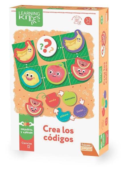 Imagen de Juego Crea Los Códigos