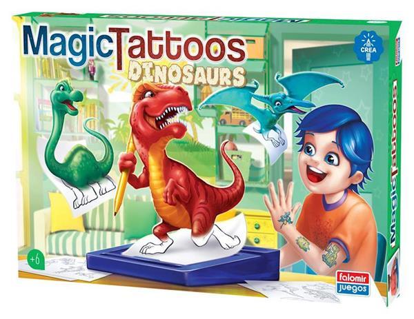 Imagen de Tatuajes Mágicos Dinosaurios