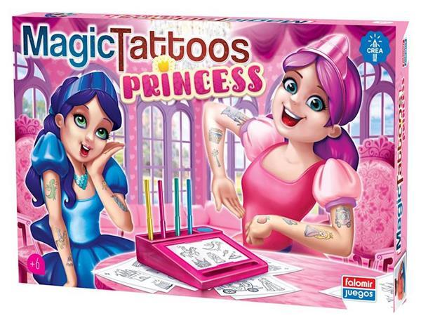 Imagen de Tatuajes Mágicos Princesas