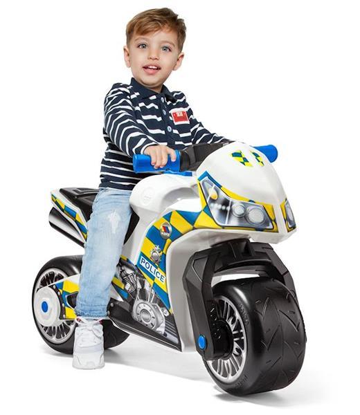 Imagen de Correpasillos Moto Policia Grande 73 Cm