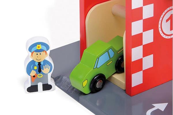 Imagen de Parking De Madera Infantil