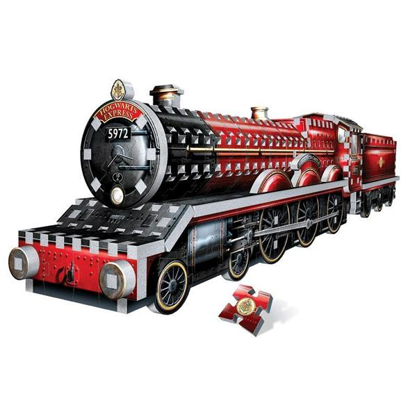 Imagen de Puzzle 3D Tren Hogwarts Express 460 Piezas