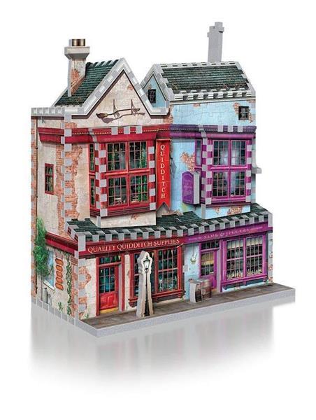 Imagen de Puzzle 3D Tienda Quidditch Harry Potter
