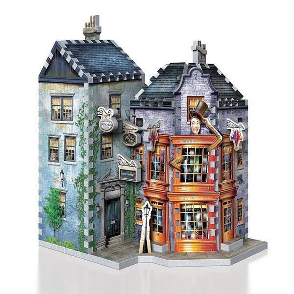 Imagen de Puzzle 3D Tienda Bromas Weasley Harry Potter