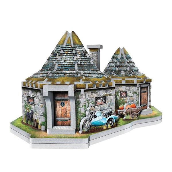 Imagen de Puzzle 3D Casa Hagrid Harry Potter