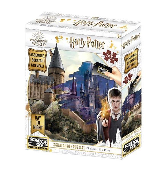 Imagen de Puzzle Para Rascar Hogwarts Día Y Noche