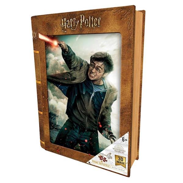 Imagen de Puzzle 3D Harry Potter Batalla En Libro