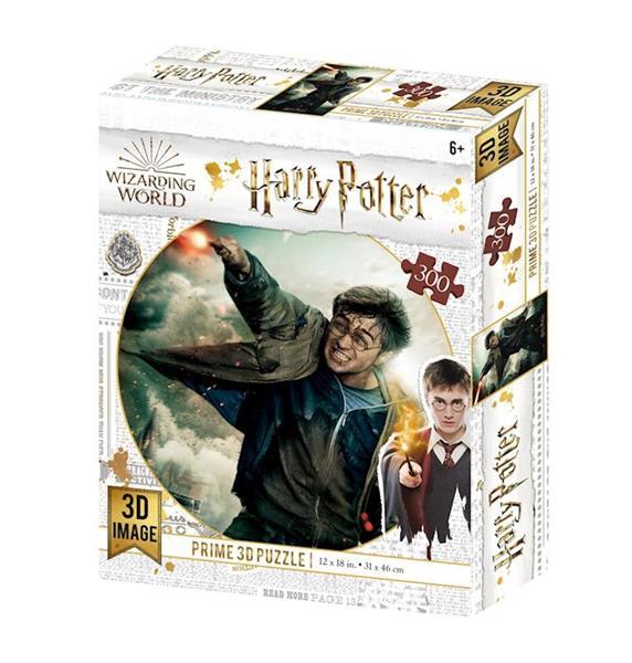 Imagen de Puzzle Lenticular Harry Potter Batalla