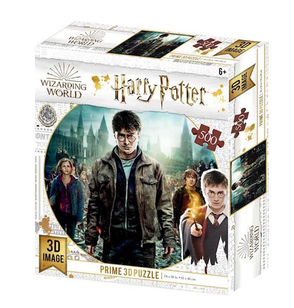 Imagen de Puzzle Lenticular Reliquias De La Muerte Harry Potter