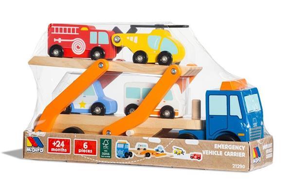 Imagen de Camión Emergencias Vehículos Madera