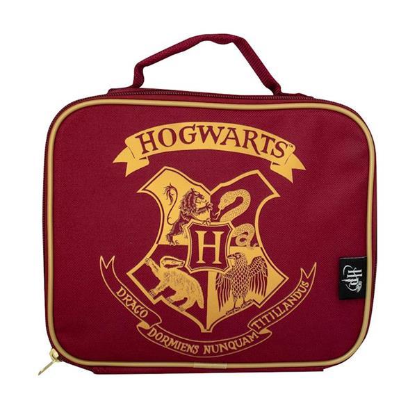 Imagen de Portameriendas Hogwarts Términco Rojo