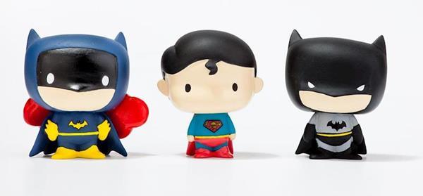 Imagen de Figuras Liga de la Justicia para Bañera