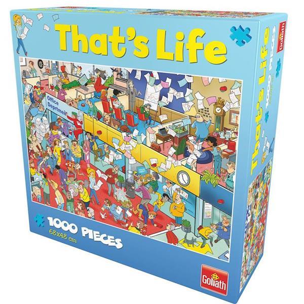 Imagen de Puzzle That's Life Oficina 1000 Piezas