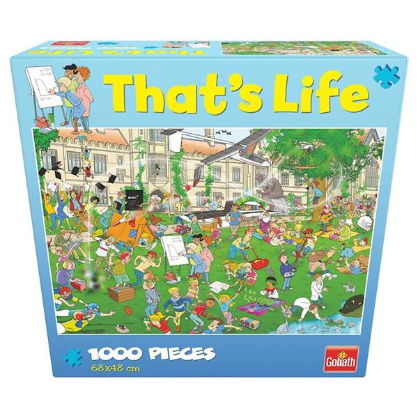 Imagen de Puzzle 1000 Piezas That's Life Universidad