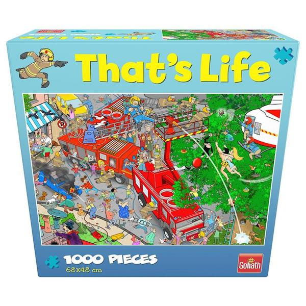 Imagen de Puzzle 1000 Piezas That's Life Bomberos