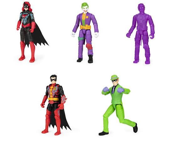 Imagen de Figura Batman Malos Bat Tech Con 3 Sorpresas