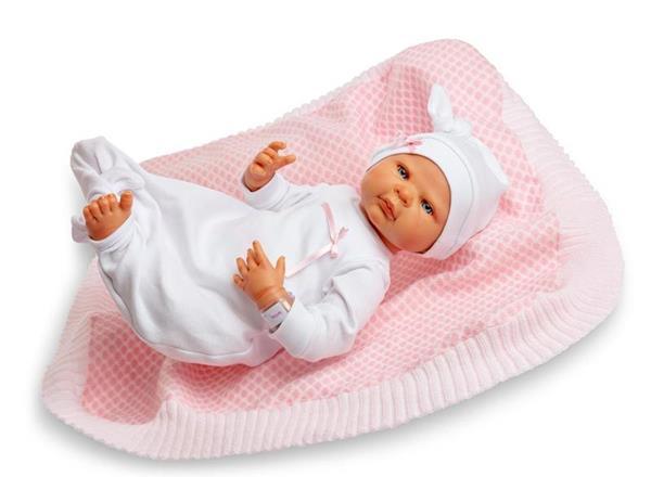 Imagen de Muñeco Sweet Reborn Niño Toquilla Y Pijama