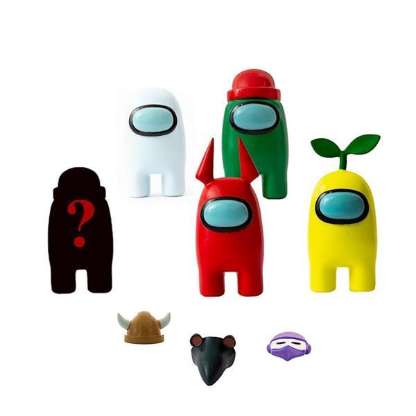 Imagen de Pack 5 Figuras Among Us