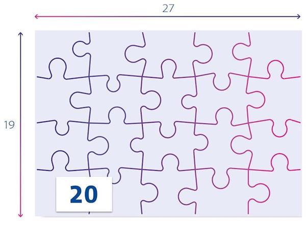 Imagen de Puzzles Paw Patrol 2x20 Supercolor