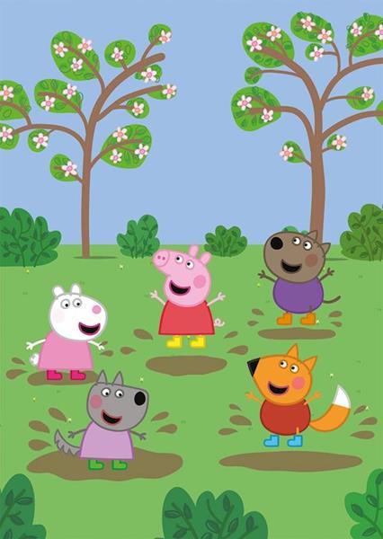 Imagen de Puzzles Peppa Pig 2x20