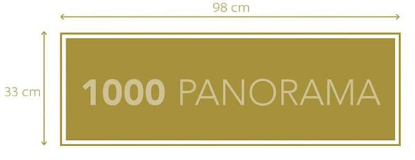 Imagen de Puzzle Stranger Things Panorama 1000 piezas