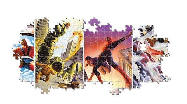 Imagen de Puzzle Marvel Panorama 1000 Piezas