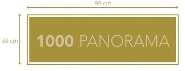 Imagen de Puzzle The Witcher Panorama 1000 piezas