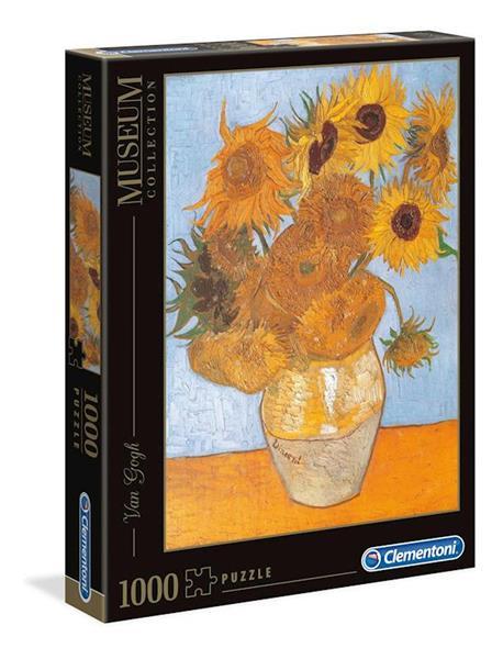 """Imagen de Puzzle Van Gogh """"Los Girasoles"""" 1000 piezas"""
