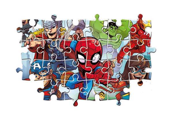 Imagen de Puzzle Marvel Superhéroes 24 Piezas