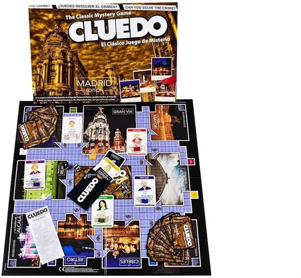 Imagen de Juego Cluedo Madrid