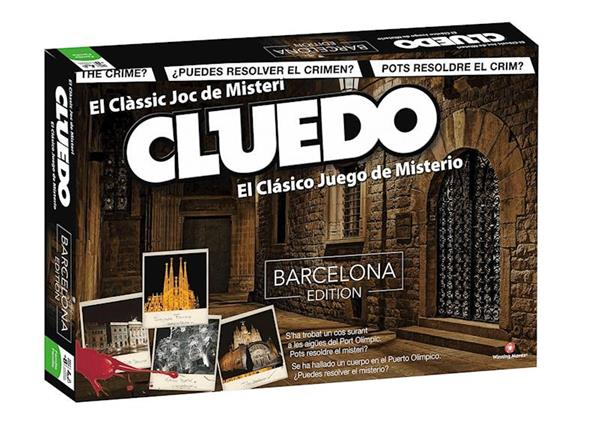 Imagen de Juego Cluedo Barcelona