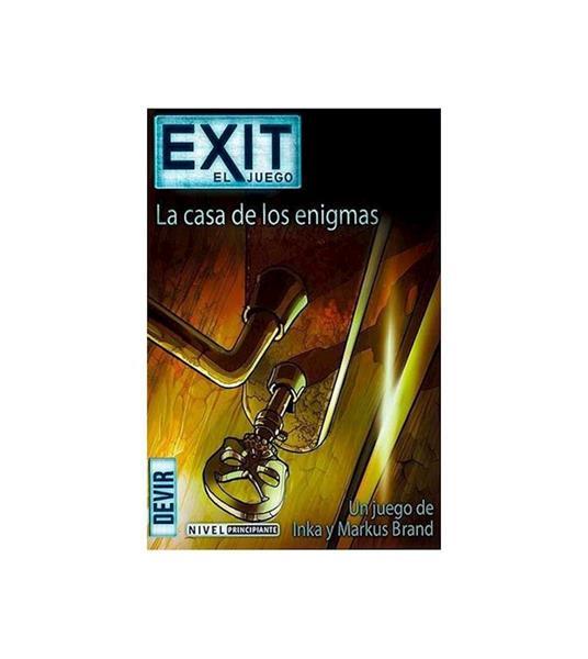 Imagen de Juego Exit La Casa de Los Enigmas