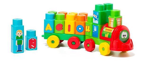Imagen de Tren con 28 Bloques de Moltó