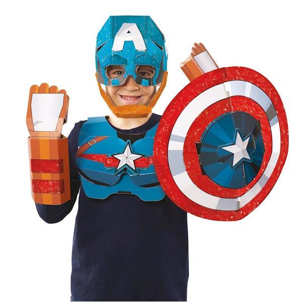 Imagen de Máscara Márvel Capitán América