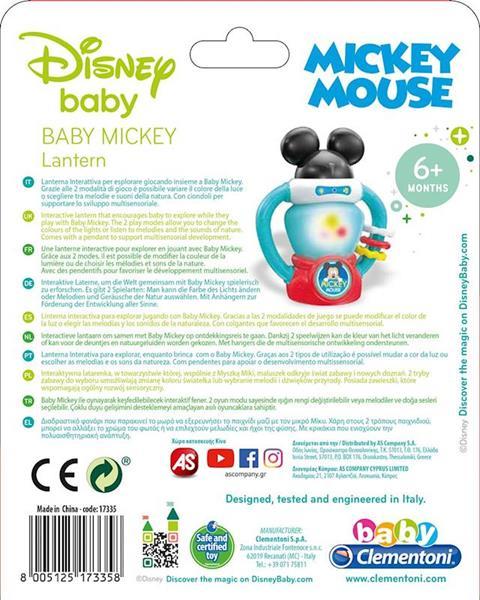 Imagen de Linterna Interactiva Baby Mickey