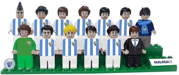 Imagen de Figuras Brick Team Málaga CF