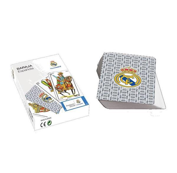 Imagen de Baraja Española Naipes Real Madrid