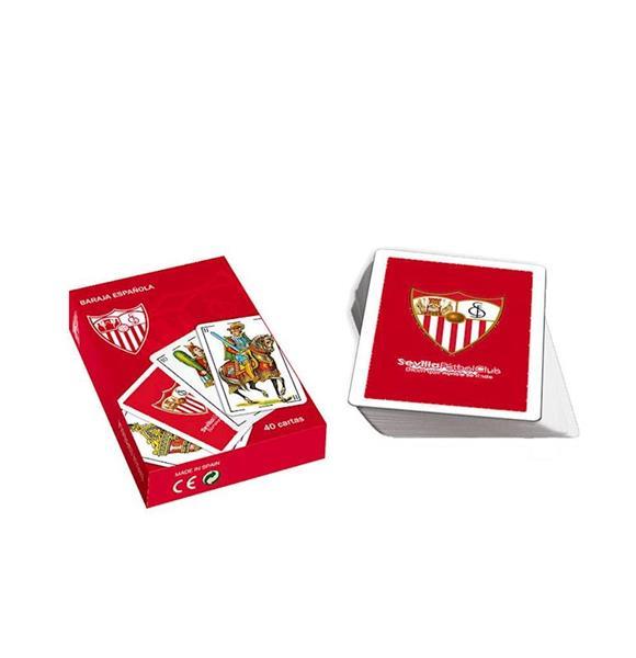 Imagen de Baraja Española Naipes Sevilla FC