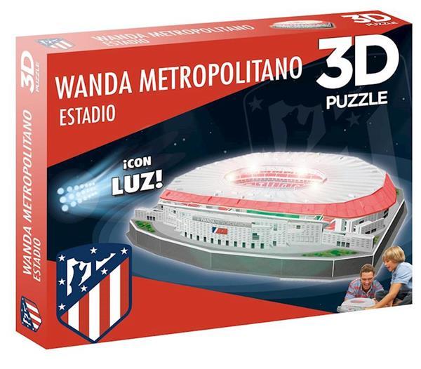 Imagen de Puzzle 3D Estadio Wanda Metropolitano