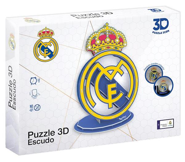 Imagen de Puzzle 3D Escudo Real Madrid CF