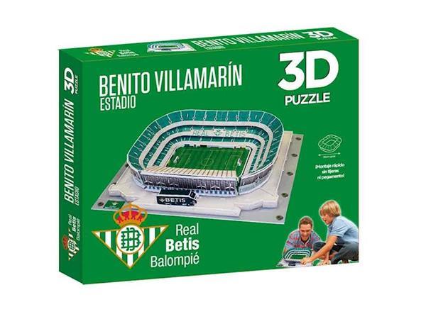 Imagen de Puzzle 3D Estadio Benito Villamarín
