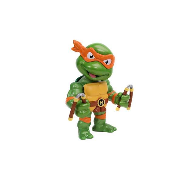 Imagen de Michelangelo Tortugas Ninja Figura Metal 10 Cm