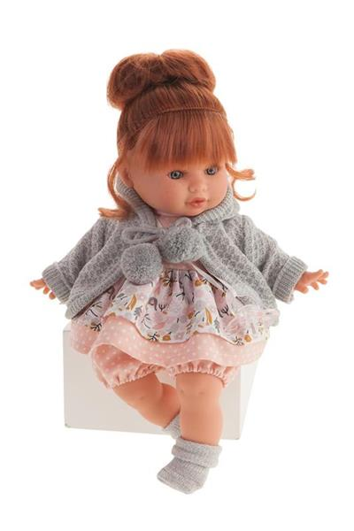 Imagen de muñeca dato chaqueta gris