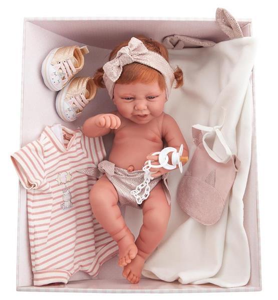 Imagen de Muñeca Newborn Carla Con Ajuar