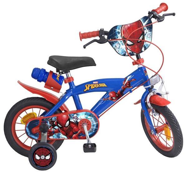 Imagen de Bicicleta Spiderman 12 Pulgadas
