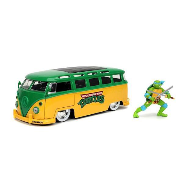 Imagen de Tortugas Ninja VW Furgoneta 1962 Con Figura